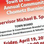 Town of Ramapo Community Chametz Burning