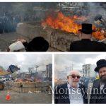 Spring Valley Burns its Chometz