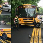 Head on Collision in Monsey Involving School Bus, 1 Person Injured