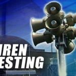 Indian Point Siren Test Tonight