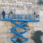 Preparing the Western Wall for the Holidays