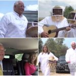 US Ambassador Friedman Visits Kfar Chabad in Search of Honey