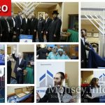 Nine Foot Menorah Lights Up Good Samaritan Hospital