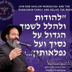 LIVE at 8:00PM: 2nd Annual Rubashkin Chanukah Event