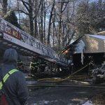 Fire Burns Through Garage, Injures One
