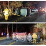 Overturn On Camp Hill Rd In Pomona