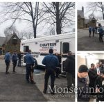 Chaverim Mobile Command Center Houses Palisades Police
