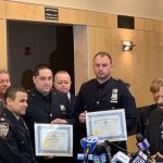 Officers Honored for Response to Chanukah Stabbing Attack