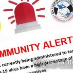 Chaverim and Hatzoloh Publish Community Alert