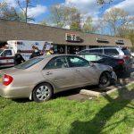 Chain Reaction Crash Damages Five Cars In Airmont