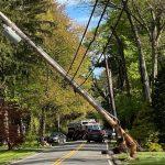 Crash In Chestnut Ridge Downs Utility Pole, Cuts Power