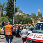Suspected Ramming Attack in Ma'aleh Adumim Area