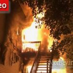 Fire Burns Through Hillcrest Home Tuesday Morning