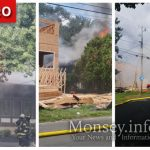 Jewish Owned Home in Monsey Burns In Sunday Fire