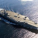 Iran Accidentally Blocks Own Naval Port by Sinking Fake US Carrier in Wrong Place
