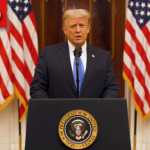Watch: Trump Delivers Final Farewell Address