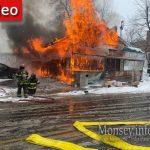 Motty's Supermarket Destroyed In Massive Blaze